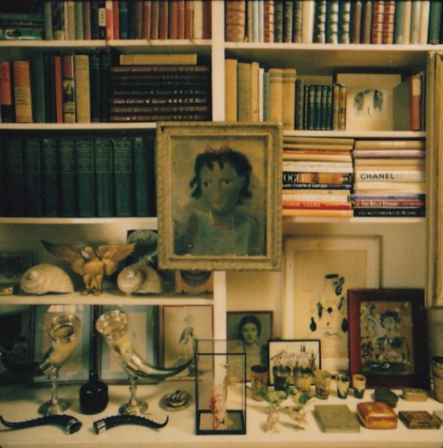 Diana Vreeland\'s library detail