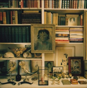 Image of Diana Vreeland's Library, curated by Kurt Thometz